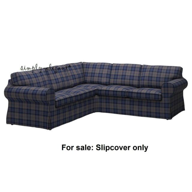 Exceptionnel IKEA SLIPCOVER For IKEA EKTORP Corner Sofa 2+2 Sectional Cover Rutna  Multicolor