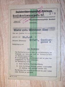 Versichertenausweis-d-Sozialversicherungsanstalt-Thueringen-ehem-DDR-im-Orig