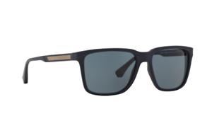 2c9f1475b959 NWT Emporio Armani Sunglasses EA 4047 5065 87 Blue Rubber   Grey ...