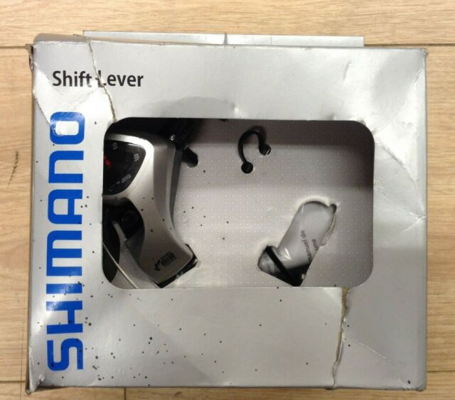 Shimano Tourney Tx50 Thumb Shifters Pair Silver 6 Speed for sale online