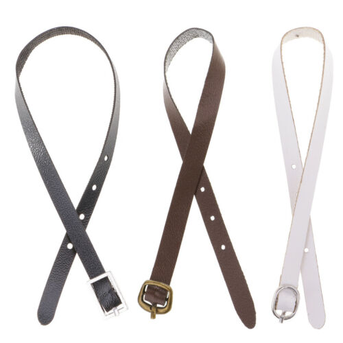 3 PCS 1//6 Scale PU Leather Belt for 12/'/' Hot Toys Male Action Figures Body