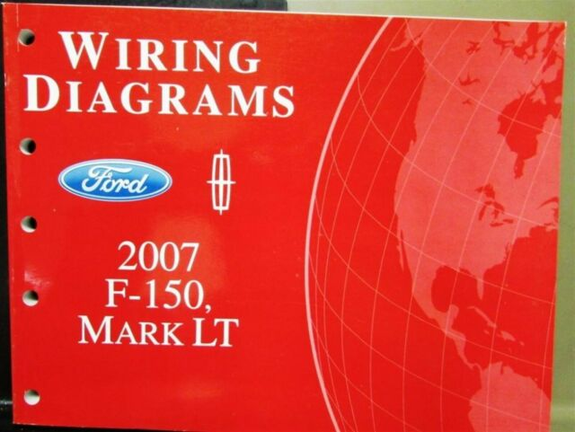 2007 Ford Lincoln Dealer Electrical Wiring Diagram Manual F