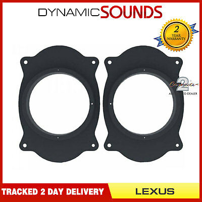 Vauxhall Corsa C 2000-2006 17cm Front Door Car Speaker Adaptors Rings CT25VX02