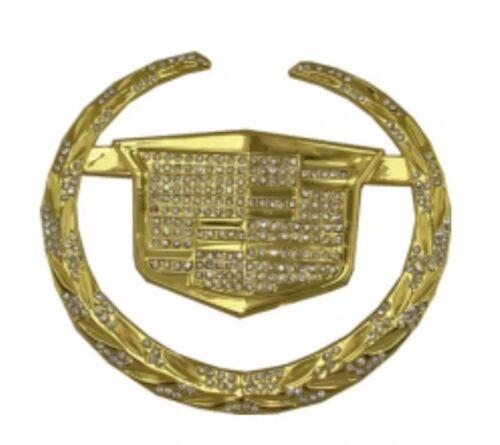 New CADILLAC Car Belt Buckle Fashion Western GOLD Cowboy Men Women Christmas