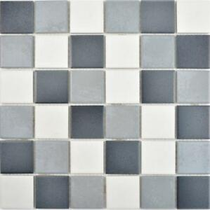 Dettagli su Mosaico in ceramica grigio pavimento muro cucina Doccia Bagno  Specchio Piastrelle 14-0123 _ F 10 Tappetini- mostra il titolo originale