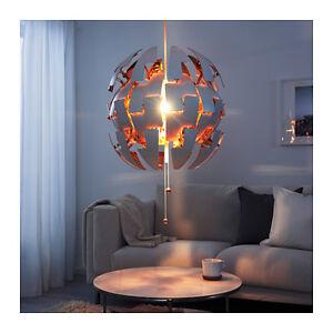 Ikea Ps 2014 Pendant Lamp 20 Quot Diameter Like Death Star Color White Copper Ebay