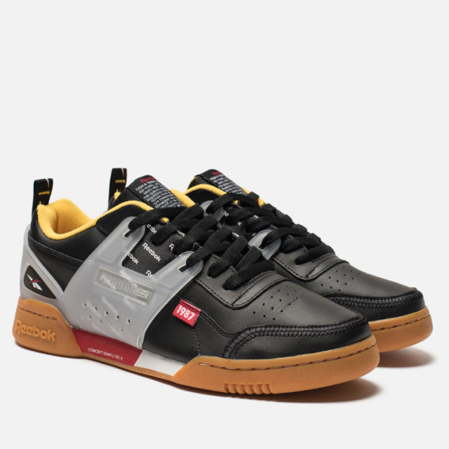 fiabilidad yeso Directamente  Reebok Workout Plus Altered Black/ Red/yellow Alter The Icon Dv5242 9.5 for  sale online | eBay