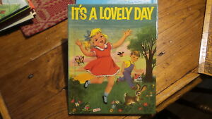 Vintage Wonder Books Story Book, 1956