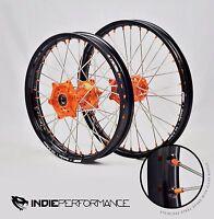 Ktm Front-rear Wheel Set 105-690 Excludes 520 & 640 Adventure Wheels Orange Hub