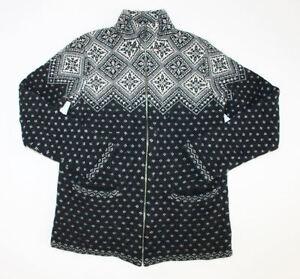 Petite Kvinder Hvid Sort Sweater Lambswool 100 Ralph S Små Lauren EqnPaP