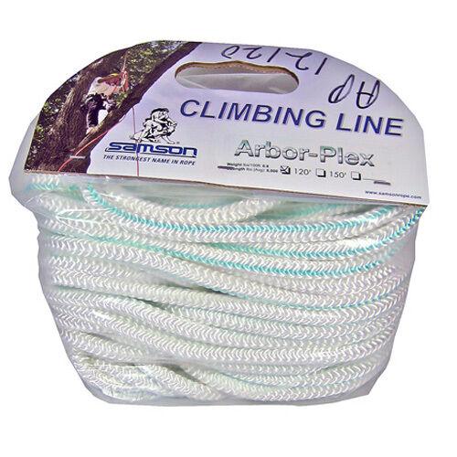 """AP12120 Samson Arbor Plex Arborist Climbing Rope 1//2/"""" 120/'"""