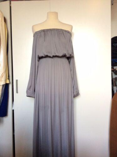 Limited Boutique Designer Maxi Edition Occasion Rep Silver Dress € 165 qp5w5dSFZr
