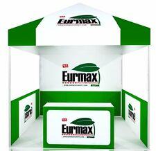 10X10 Custom LOGO Printed EZ Pop Up Canopy Commercial TRADE SHOW FAIR BOOTH Tent