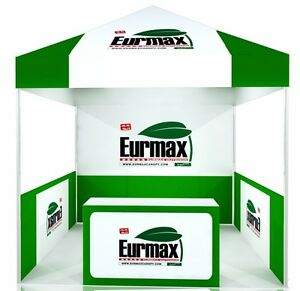 10x10 custom logo printed ez pop up canopy commercial for 10x10 craft show tent