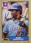 1987 Topps Ken Griffey #711 Baseball Card