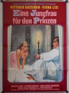 JUNGFRAU-FUR-DEN-PRINZEN-Kinoplakat-039-66-VITTORIO-GASSMAN-VIRNA-LISI