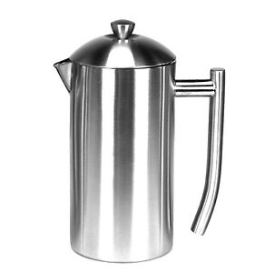 Frieling Brushed Stainless Steel French Press Coffee Maker - 36 oz 728547001440 eBay
