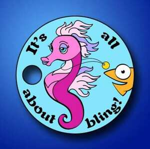 IT'S ALL ABOUT BLING Pathtag geocoin - New - Loggable