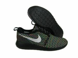 best sneakers 6290a bc079 Image is loading Nike-Roshe-Run-Flyknit-Multicolor-ID-Rosherun-Sz-