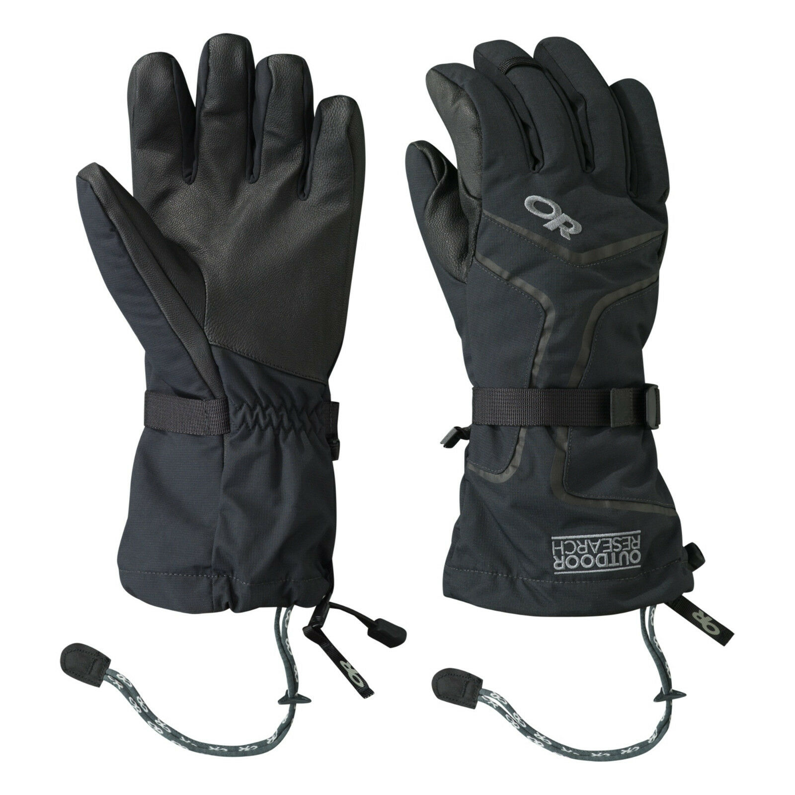 Outdoor Research Hombre Highcamp Guantes Negros