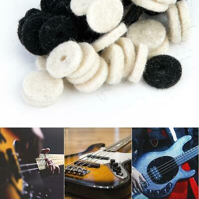 10pcs Guitar Strap lock Rubber Safety Strap Lock Washer for Guitars