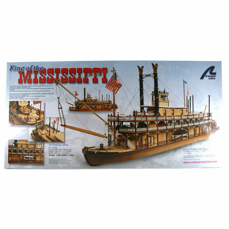 Mississippi - Artesania Latina - Riverboat 1 80 Scale