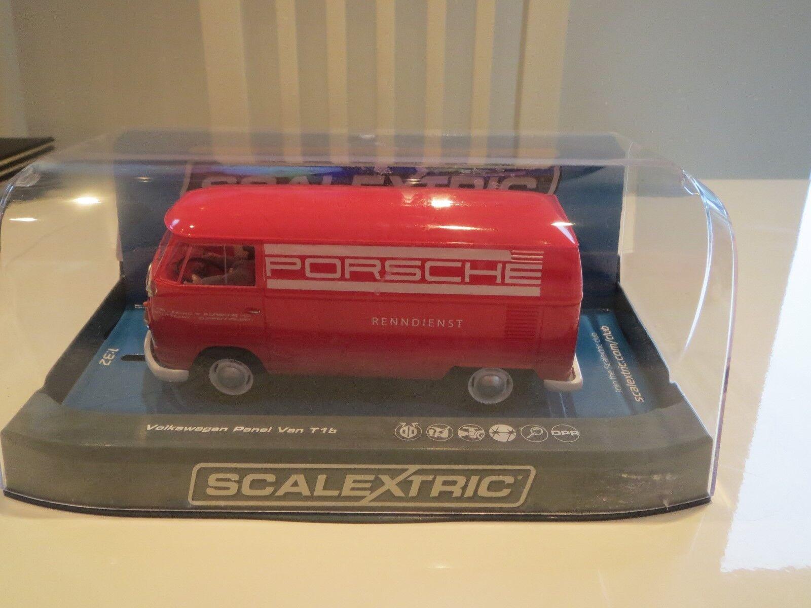 Scalextric C3755 Volkswagen Panel Van Porsche Racing Service BRAND NEW.