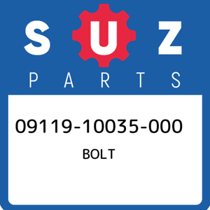 09119-10035-000-Suzuki-Bolt-0911910035000-New-Genuine-OEM-Part