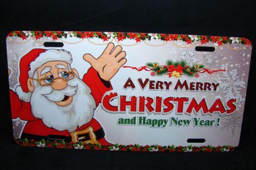 MERRY CHRISTMAS NOVELTY LICENSE PLATE NEW YEAR SEASONAL SPIRITUAL HAPPY HOLIDAYS