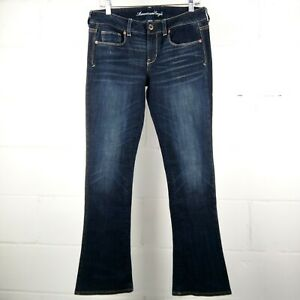American-Eagle-Stretch-Skinny-Kick-Women-10-Dark-Whiskered-Wash