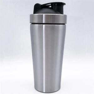 Nutrition-Stainless-Steel-Shaker-Metal-Protein-Shake-Mixer-Cup-Drink-Nice-Gift