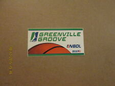 NBDL Greenville Groove Vintage Team Logo Sticker
