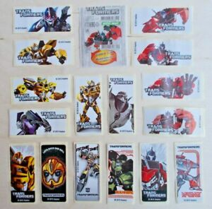 Full-Set-TRANSFORMERS-Stickers-Bubble-Gum-Inserts-Wrappers-16-pcs-1wrapper