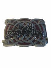 Led Zeppelin Rock Band Logo Metal Enamel BELT BUCKLE