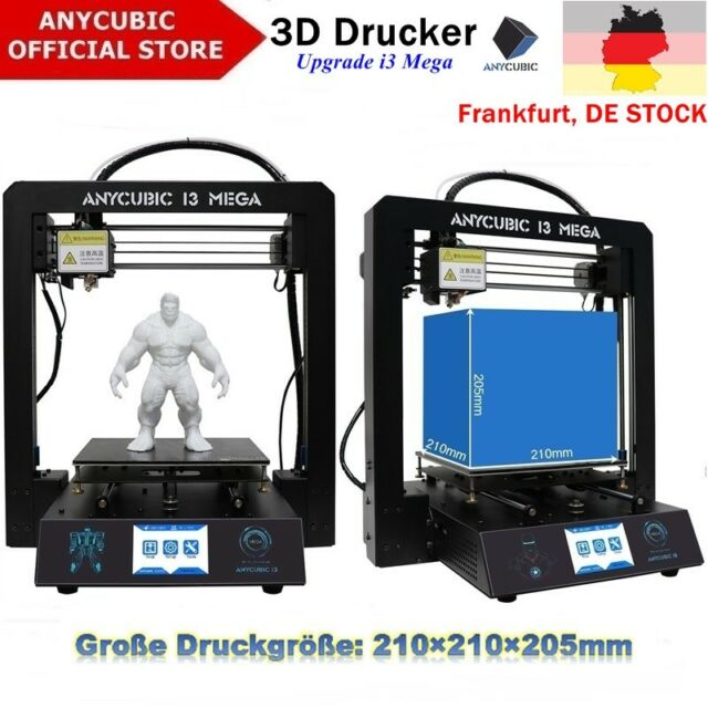 BLACK FRIDAY Anycubic i3 Mega 3D Drucker Kit größerer Druckgröße 3,5 Zoll TFT