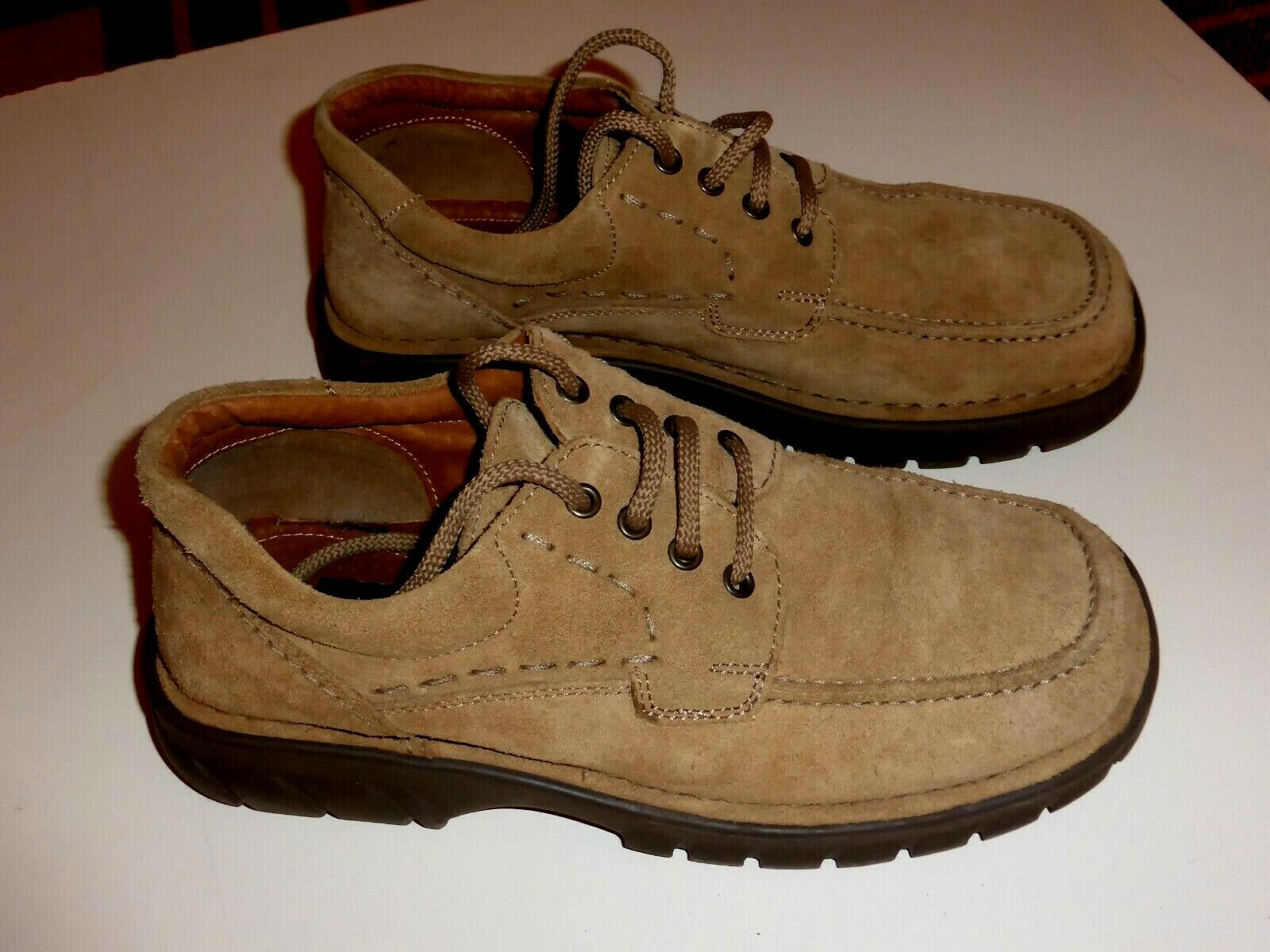 CUCITO A MANO MENS SUEDE LEATHER SHOES size 7 Superb condition.
