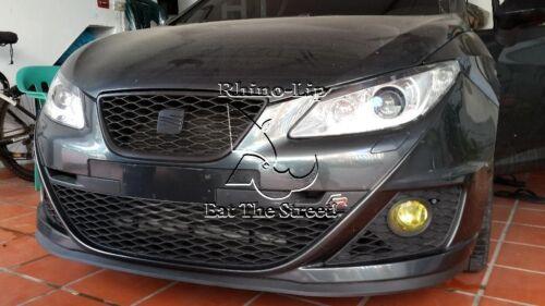 Seat Ibiza Leon Cupra R Style Flexible Univ Front Chin Lip Splitter Spoiler Trim