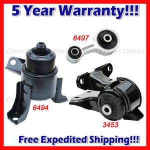 New For 03-08 Mazda 6 2.3L 6497 Rear Torque Strut Engine Motor Mount 9195