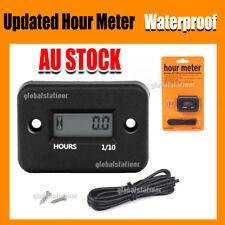 Waterproof Digital Hour Meter for Motorcycle ATV Snowmobile Boat Dirt Gas Engine