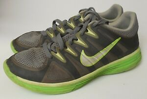 70bf408b156 Details about Nike Womens Lunar Allways TR Gray Green Running Jogging Shoes  Sneakers size 7 M