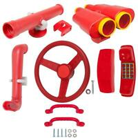 Swing Set Stuff Deluxe Accessories Kit Red Park Accessory Playground Parts 0245