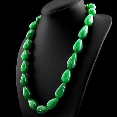 818.00 CTS NATURAL RICH GREEN AQUAMARINE 4 STRAND ROUND SHAPE BEADS NECKLACE
