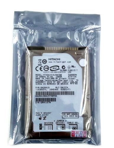 """1 von 1 - Hitachi Travelstar HTS541616J9AT00 160GB 2.5"""" IDE/ PATA 5400RPM Hard Drive HDD"""