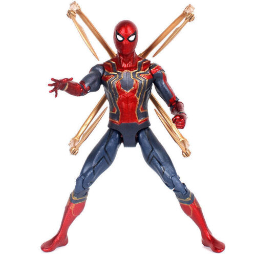 "Marvel Avengers 3 Infinity War Iron Spider Spider-Man 7/"" Action Figure Toy Gift"