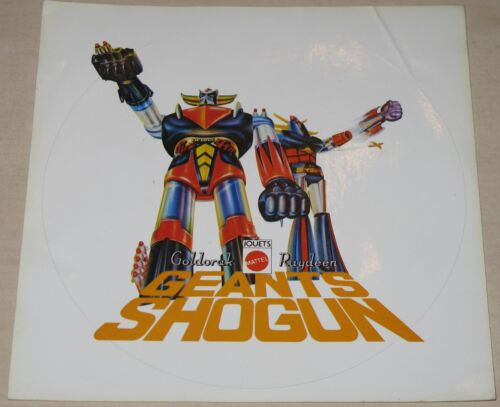 Sticker Goldorak Raydeen Geants Shogun Mattel Autocollant