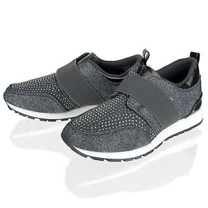 Womens Ladies Sports Casual Sparkly
