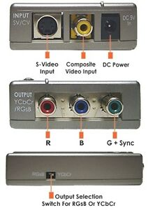 TV-Composite-S-Video-To-Component-Video-RGB-Converter