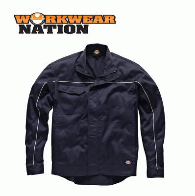 Dickies Industry 260 Work Jacket Coat Reflective Seams Grey
