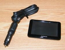 "Genuine Garmin Nuvi (2455LM) 4 1/2"" (inch) GPS Receiver & DC Power Supply *READ*"