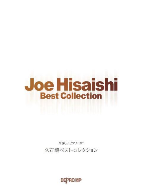 Keyboard & Piano Joe Hisaishi Selection Piano Solo Music Scor From Japan Customers First